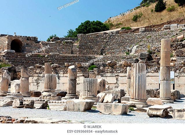 Ruins of the ancient Greek city Ephesus