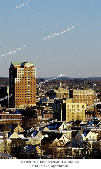 Manchester, New Hampshire Cityscape