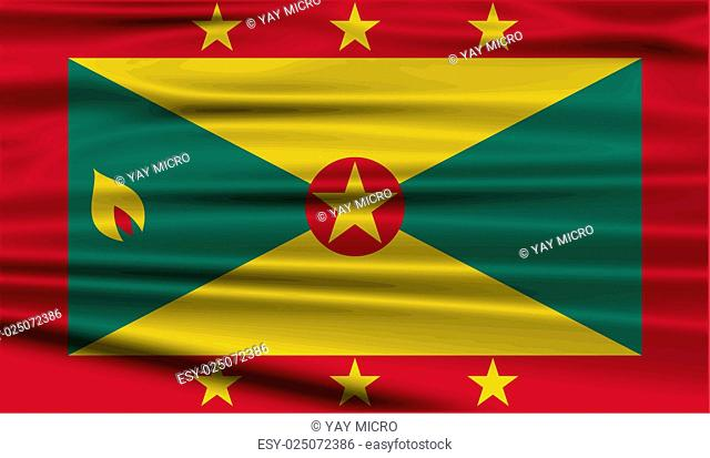 Flag state grenada Stock Photos and Images | age fotostock