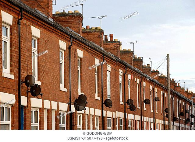 Houses in Leicester, U.K