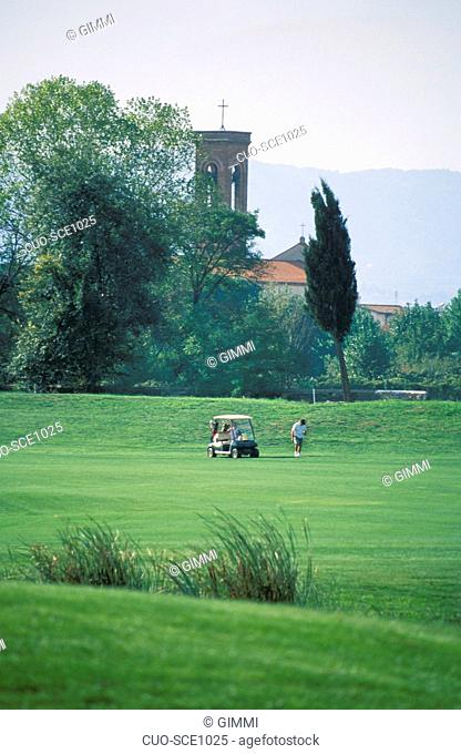 Le Pavoniere golf club, Prato, Tuscany, Italy