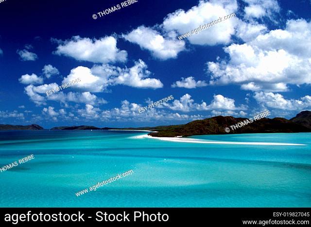 Weißer Traumstrand Whitsunday Islands