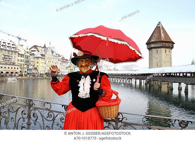 Carnival Lucerne Switzerland