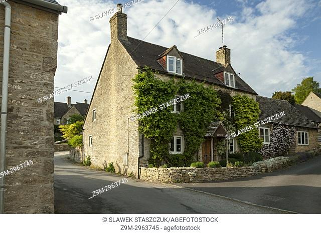 North Cerney, Gloucestershire, England. The Cotswolds