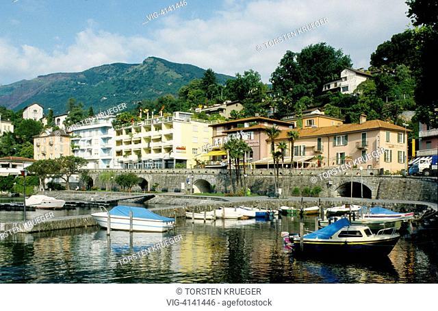 Switzerland, Ascona : Lago Maggiore