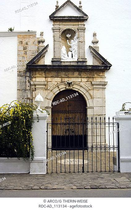 Curch La Encarnacion Grazalema white villages Pueblos Blancos Andalusia Spain