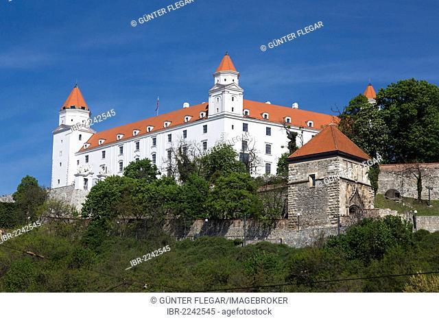 Bratislava Castle, Bratislavský Hrad, Bratislava, Slovak Republic, Europe