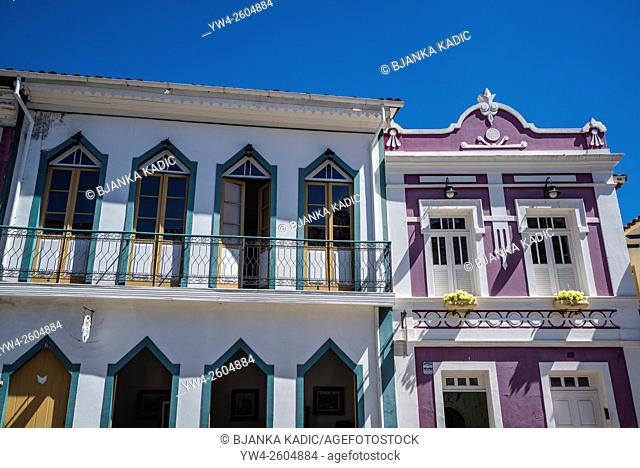 Historical houses, Minas Gerais, Ouro Preto, Brazil