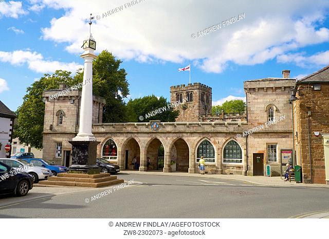 The High Cross Boroughgate. Appleby-in-Westmorland, Cumbria, England, United Kingdom