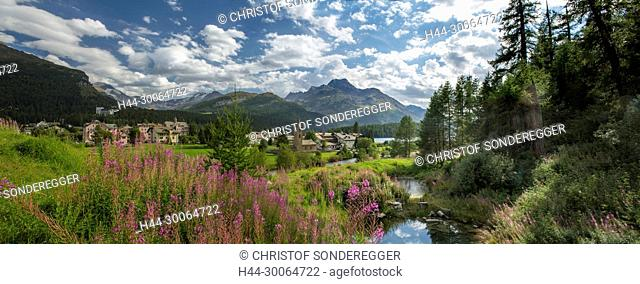 Sils-Baselgia GR am Silsersee
