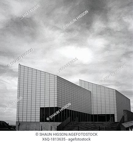 The Turner Contemporary Art Gallery in Margate in England in Great Britain in the United Kingdom UK in Europe. Named after the artist J M W Turner Designed by...