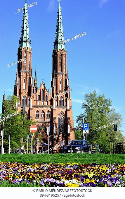 Cathedral of St. Michael the Archangel and St. Florian the Martyr, Warsaw, Poland