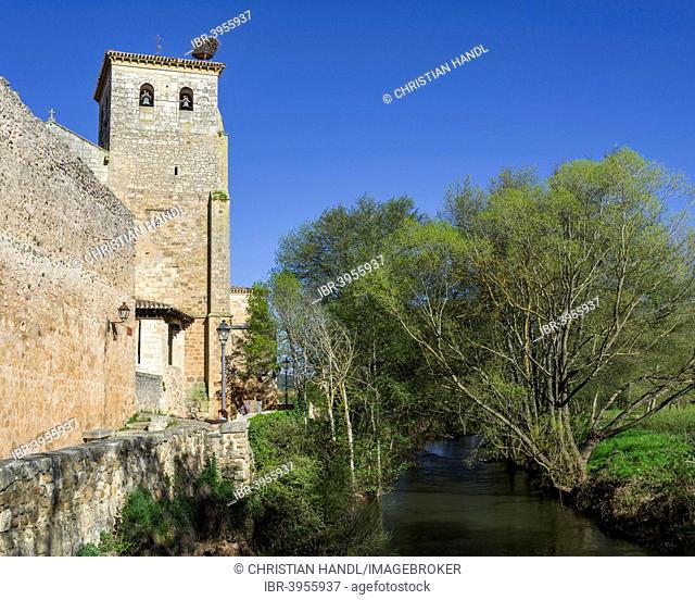 Former Collegiate Church of San Cosme y San Damián, Covarrubias, Castile and León, Spain