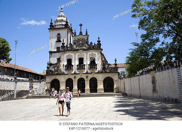 Igreja Sao Francisco in Joao Pessoa, Paraiba. Brazil
