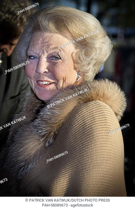 Princess Beatrix of The Netherlands attends the liberation concert on the Amstel river in Amsterdam, The Netherlands, 5 May 2015