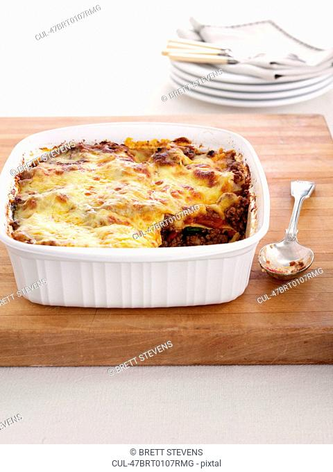 Dish of cottage pie