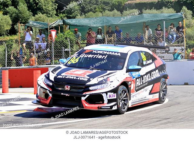 WTCR 2018: Vila Real. Race of Portugal, Pratice Action. Guerrieri, Honda Civic Type R TCR #86