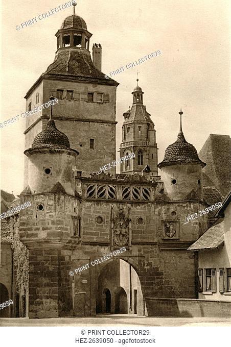 'Weissenburg - Ellinger Gate', 1931. Artist: Kurt Hielscher