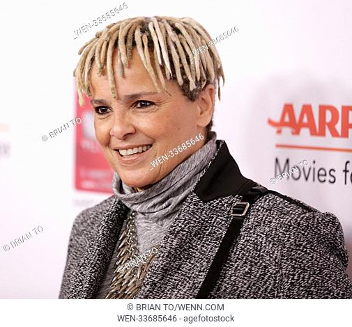 AARP's 17th Annual Movies For Grownups Awards at the Beverly Wilshire Four Seasons Hotel in Beverly Hills, California. Featuring: Shari Belafonte Where: Beverly...