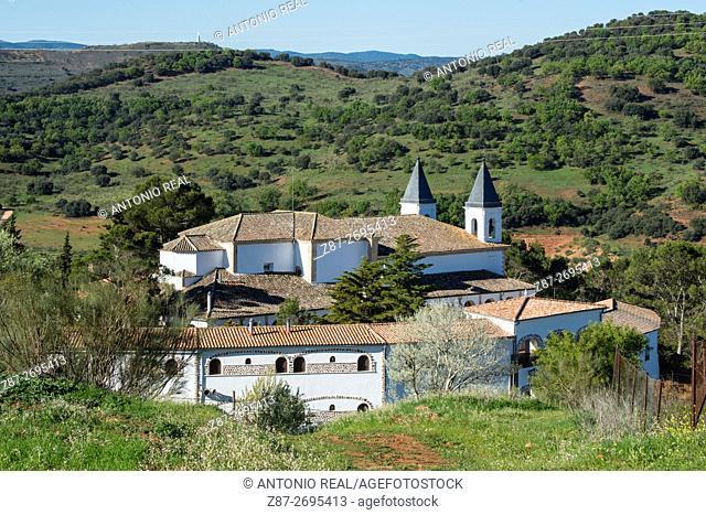 Nuestra Señora de Cortes Sanctuary, May Pilgrimage. Alcaraz, Albacete province, Castile La Mancha, Spain