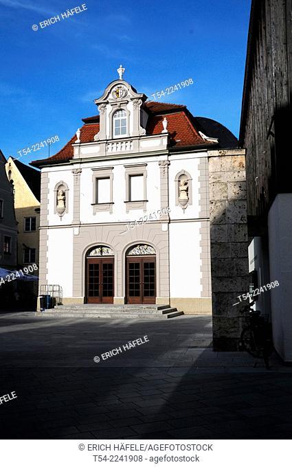 The city theater in Memmingen