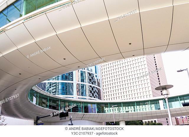 Modern Architecture in Downtown Houston, Texas, USA