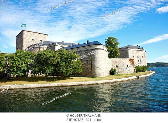 Schweden, Vaxholm, Festung