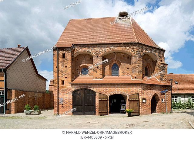 Chapel of the Holy Spirit Hospital, Heiligen-Geist-Spitals, also called salt church, Salzkirche,15th century, today place of cultural events