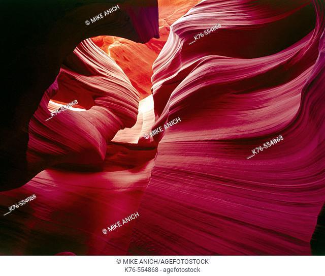 Lower Antelope Slot Canyon Page. Arizona. USA