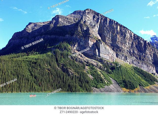 Canada, Alberta, Banff National Park, Lake Louise,