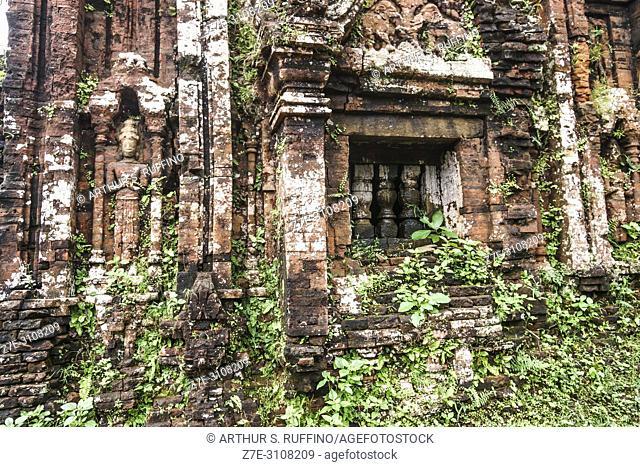 My Son Sanctuary, archaeological site, UNESCO World Heritage Site, Quang Nam Province, Da Nang, Vietnam, Southeast Asia