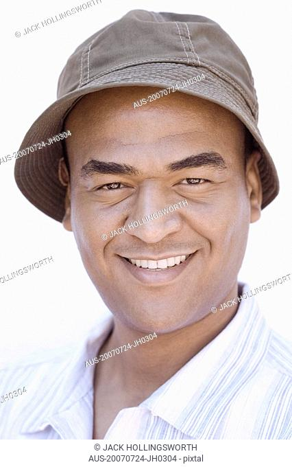 Portrait of a mid adult man smiling