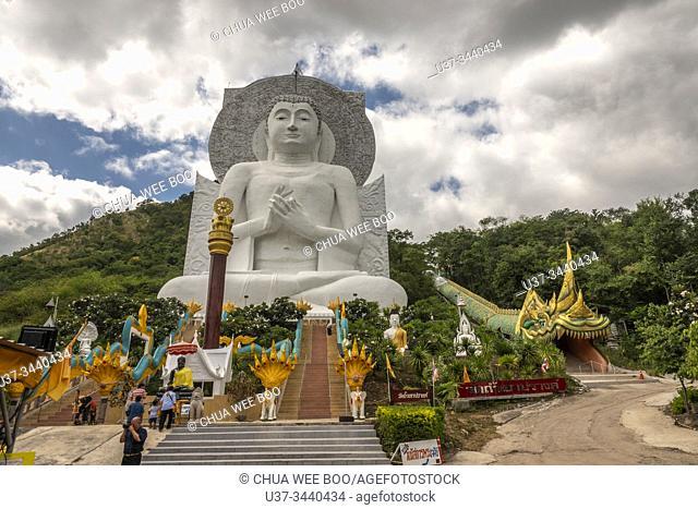 Wat Tham Phrathat Khao Prang Nikhom Lamnarai, Chai Badan District, Loburi, Thailand