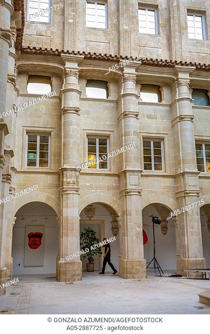 Museum of Menorca. Sant Francesc d'Assis Cloister. Mahón City. Maó Municipality. Menorca Island. Balearic Islands. Spain