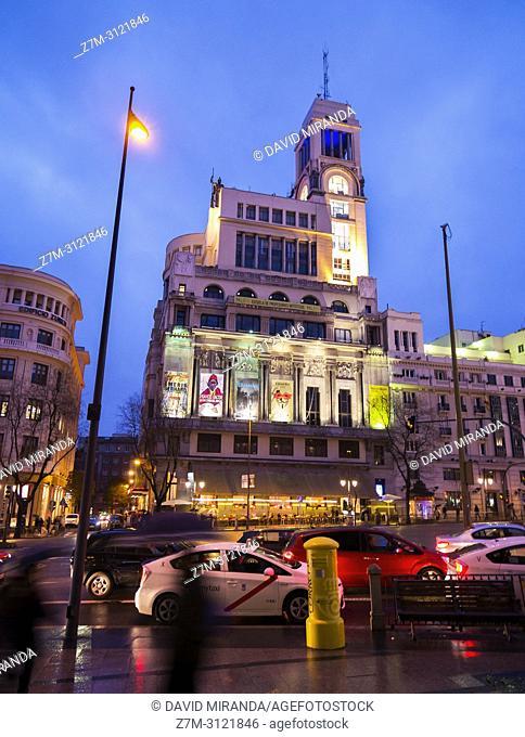 Círcula de Bellas Artes. Madrid, Spain