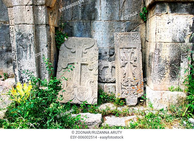 Khachkars or cross-stones