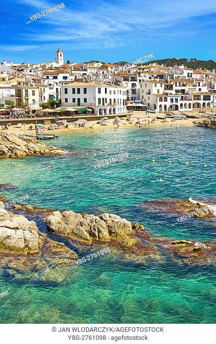 Calella de Palafrugell, Costa Brava Beach, Spain