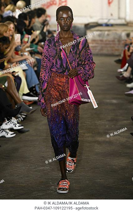 House of Holland runway during LFW September 2018. Spring/Summer 2019 Collection. London, UK. 15/09/2018 | usage worldwide