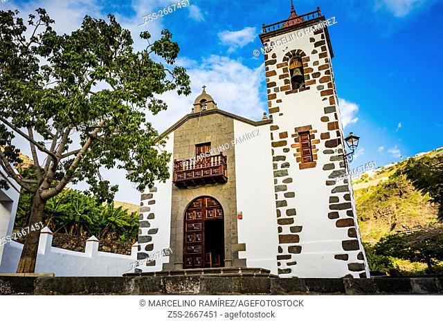 Sanctuary of Our Lady of Sorrows - Santuario de Las Angustias, near Puerto de Tazacorte, La Palma, Tenerife, Canary Islands, Spain, Europe