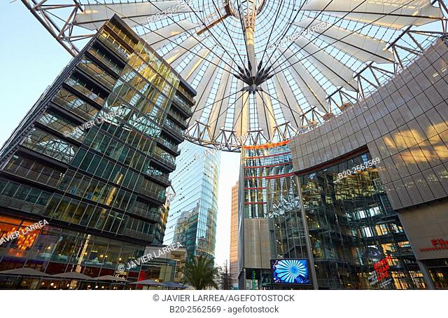 Sony Center, Potsdamer Platz, Berlin, Germany