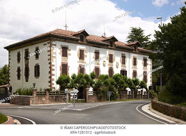 Echeverria Palace, Ordoki quarter, Arizcun Arizkun, Navarra Nafarroa, Spain España