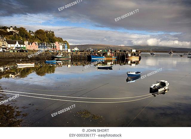 Fishing port, Tobermory, Isle of Mull, Scotland