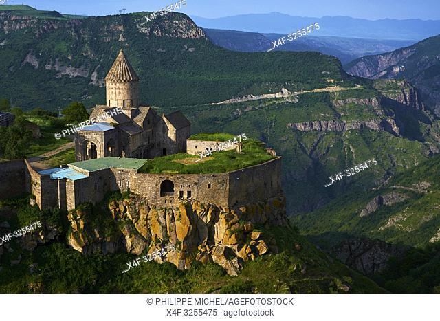 Armenie, region de Syunik, monastère de Tatev / Armenia, Syunik province, Tatev monastery