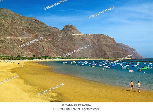 PLAYA DE LAS TERESITAS, TENERIFE ISLAND, CANARIES