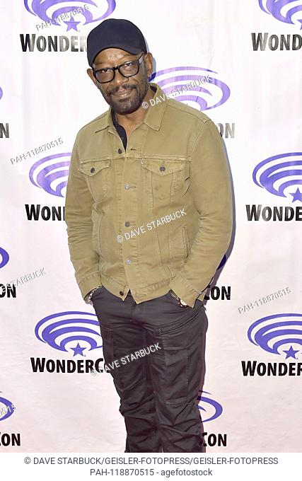 Lennie James at Photocall for the AMC TV series 'Fear the Walking Dead' at WonderCon 2019 at the Anaheim Convention Center. Anaheim, 31.03