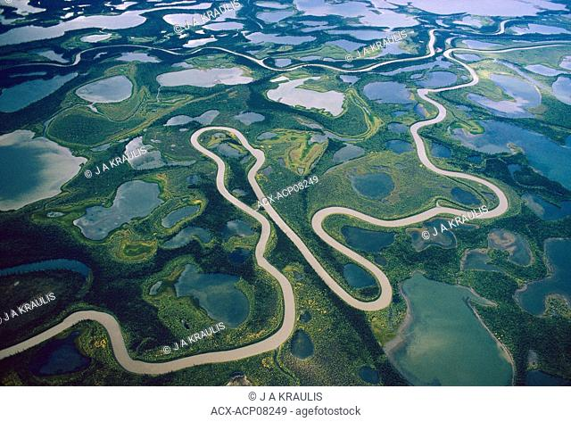 Mackenzie Delta, Northwest Territories, Canada