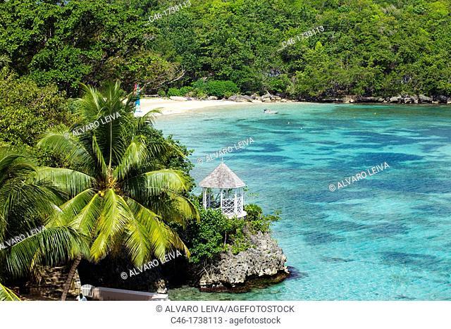 Beach, Ocho Rios, Jamaica, West Indies, Caribbean, Central America