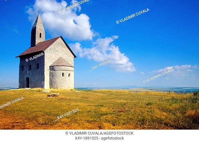 Romanesque chapel dedicated to Saint Michael the Archangel, Drazovce pri Nitre, Slovakia