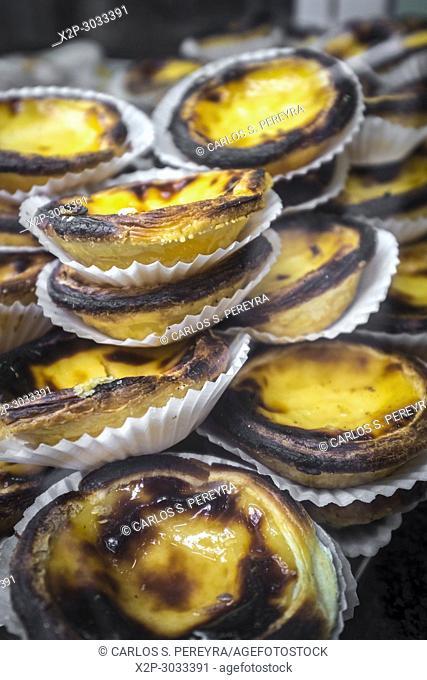 Pasteis de Belem, a Portuguese dessert pastry