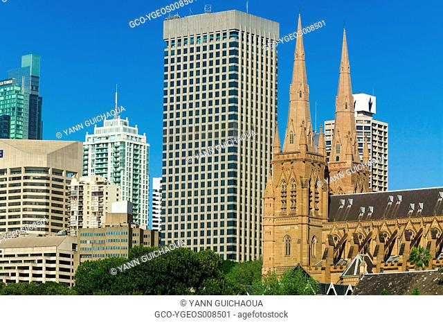 ST MARY CATHEDRAL - SYDNEY - AUSTRALIA
